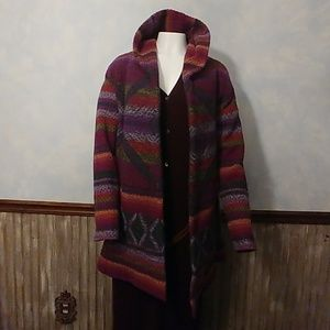 Sundance Sumptuous Hooded Sweater Coat PM